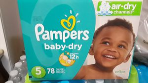 Pampers size 5 for Sale in Perris, CA