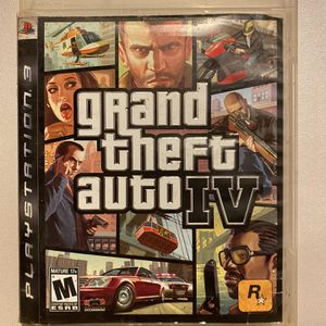 Grand Theft Auto 4/PS3 Video Game + Case + Booklet for Sale in Spartanburg, SC