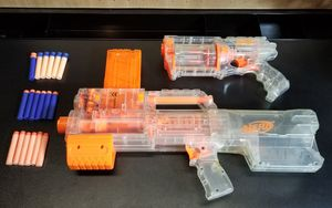 Nerf Clear Dart Gun Set for Sale in Columbus, OH