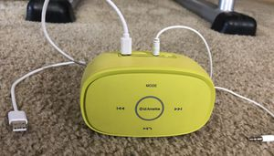 Portable Bluetooth wireless speaker. Lime Green for Sale in Laurel, MD