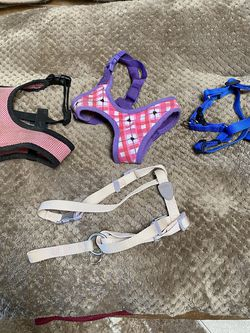 4 Different Sizes -Kinds Dog /cat Harnesses $5 Each for Sale in Fresno,  CA