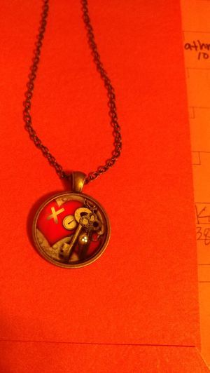 Black chain with 3d charm for Sale in Salt Lake City, UT