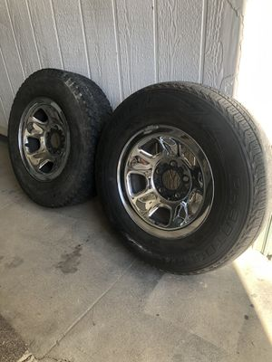 Wheels and tires 225/70/15 for Sale in Corona, CA