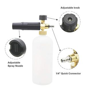 """Foam Cannon 1 L Bottle Snow Foam Lance with 1/4"""" Quick Connector for Pressure Washer for Sale in Garden Grove, CA"""