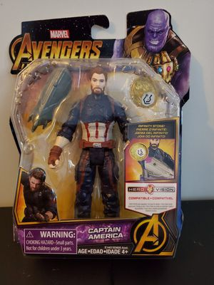 "Hasbro Marvel Avengers Infinity War Stone Captain America 6"" inch Action Figure. Condition is New. for Sale in Oceanside, CA"