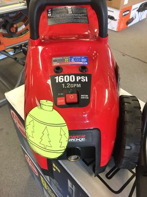 1600 psi pressure washer electric ⚡️ take 20% OFF for Sale in San Diego, CA