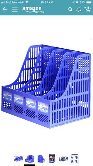 Paper document organizer storage magazine racks for Sale in Lakewood, WA