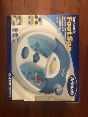 Dr.Scholl's foot spa for Sale in Boston, MA