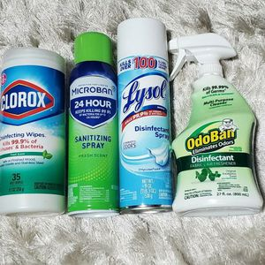 Lysol Disinfectant Bundle for Sale in Cayce, SC