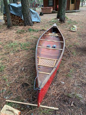 Handcrafted Merrimack Souhegan 16ft canoe for Sale in Leavenworth, WA
