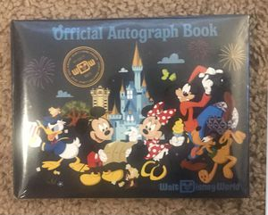Disney autograph book new sealed for Sale in Davenport, FL