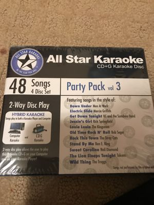 Karaoke disks for Sale in Portland, OR