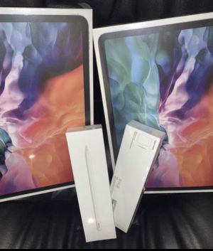 New iPad Pro 2020 12.9 inch latest model with Apple Pencil 2 available $1220 each I can meet up & deliver for Sale in Fremont, CA