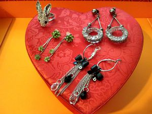 Fashion jewelry rings & earrings for Sale in Anaheim, CA