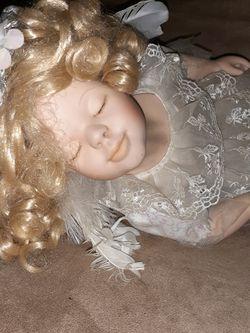 PORCELAIN ANGEL BABY DOLL for Sale in Dayton,  OR