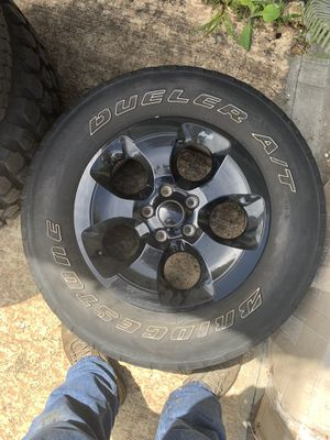 Jeep jk wheels and tires for Sale in Holiday, FL