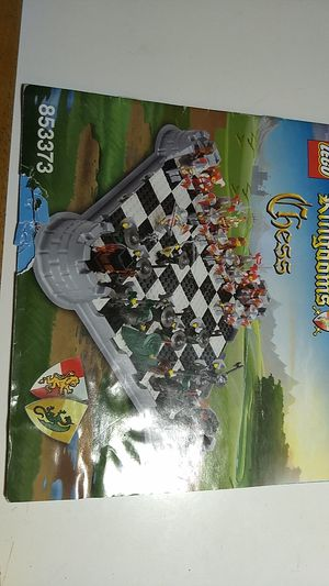Lego Kingdoms Chess set Manual for Sale in Glendale, AZ