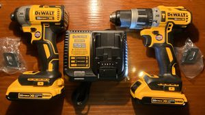 Dewalt XR Brushless Impact Driver and Hammer Drill Kit (BEAND NEW) for Sale in Rocky River, OH
