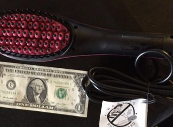 Hair Brush Straightener for Sale in Somerville,  MA