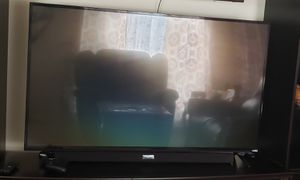55 inch vizio smart tv with tv stand like new for Sale in Lawrenceville, GA