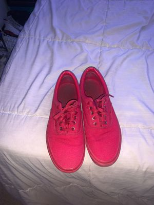 red and gold vans for Sale in Santa Clara, CA