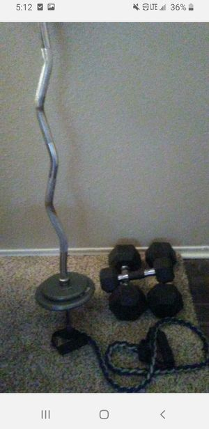 Dumbells for Sale in Dallas, TX