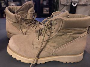 Desert Tan Combat work boots for Sale in Edmonds, WA