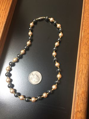 "16"" Faux Pearl Necklace for Sale in US"
