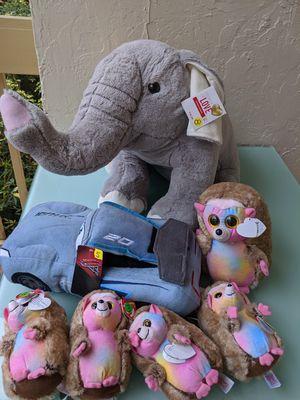 Stuffed animals bundle New for Sale in Miami, FL