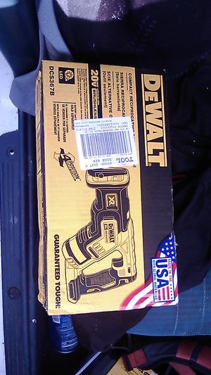 DeWalt reciprocating saw 179$ in Lowe's I got it for less for Sale in Stockton, CA