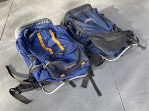 Jansport hiking camping backpacking backpacks for Sale in Phoenix, AZ