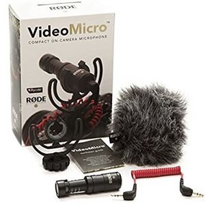 Rode VideoMicro Compact On-Camera Microphone with Rycote Lyre Shock Mount for Sale in Los Angeles, CA