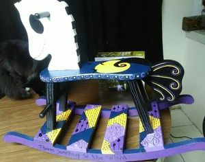 Nightmare before Christmas rocking horse for Sale in Port Richey, FL