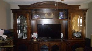 Large entertainment center for Sale in Tampa, FL