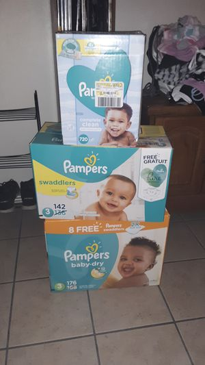 Pampers diapers size 3 for Sale in Mesa, AZ