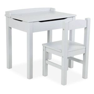 Desk - Melissa and Doug grey wooden desk and chair for Sale in Goodyear, AZ