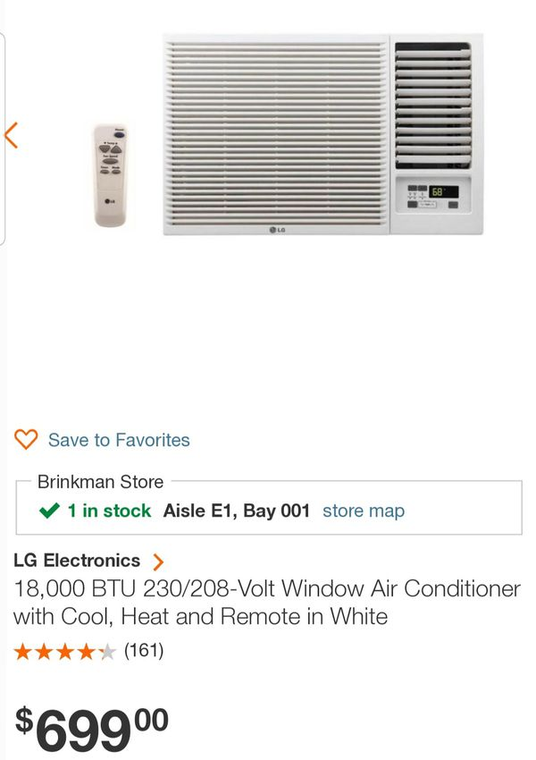 Window unit.. almos new.. used less than 2 week. paid over $600...COOL AND HEAT