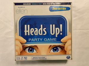 Heads Ups Board Game for Sale in Austin, TX