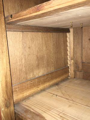 Antique oak cabinet. for Sale in Madera, CA