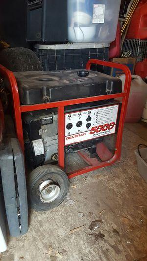 GENERAC 5000 POWER PLUS generator for Sale in Modesto, CA
