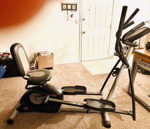 Proform Hybrid Recumbent Exercise bike and Elliptical for Sale in West Linn, OR