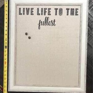 Message Live Life to The Fullest Board Ready to Hang just $5 for Sale in Port St. Lucie, FL