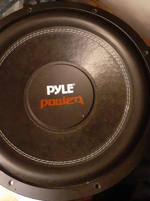 "2 12"" Pyle DVC Subwoofers 3200W for Sale in Rustburg, VA"