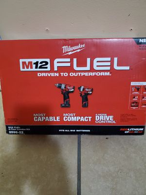 Set Milwaukee fuel 12v for Sale in South Gate, CA
