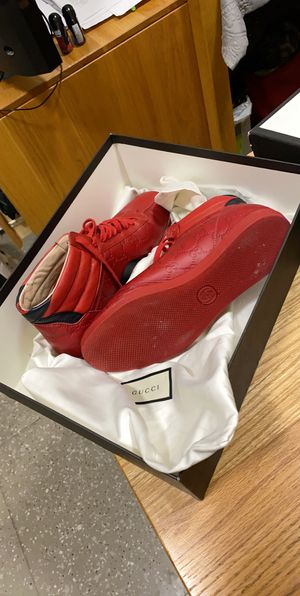 Gucci Red shoes for Sale in Boston, MA
