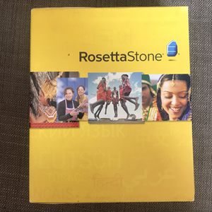 Rosetta Stone Spanish levels 1-3 for Sale in Los Angeles, CA