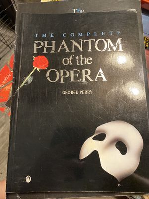 The Phantom of the Opera Book and TWO souvenir programs from Broadway production 2006 cast. $35 for Sale in Tampa, FL