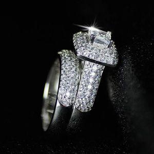 Stamped 925 Sterling Silver Engagement/Wedding Set - Code UR91 for Sale in Jacksonville, FL