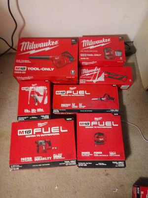 Milwaukee m18 lot of tools. for Sale in Phoenix, AZ
