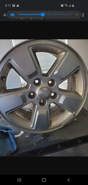 4 16 inch jeep rims for Sale in Denver, CO